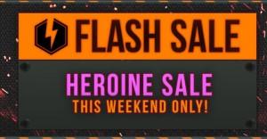 Heroine Sale